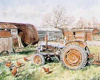 MR GRIMWOOD'S FORDSON